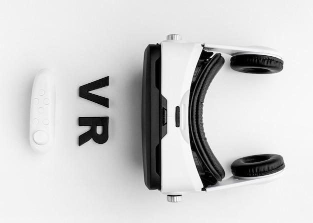 Virtual reality headset op bureau