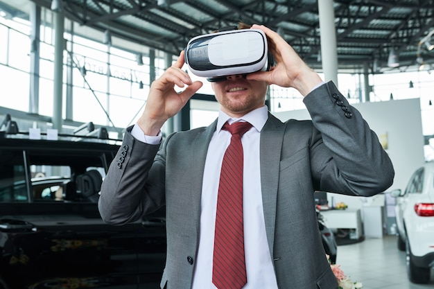 Virtuele testrit van auto