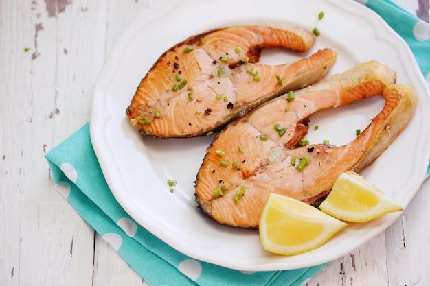Vis met kruiden