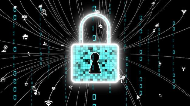 Visionaire coderingstechnologie voor cyberbeveiliging om de privacy van gegevens te beschermen