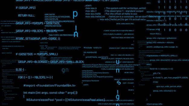 Visionaire programmering en codering van toekomstige software