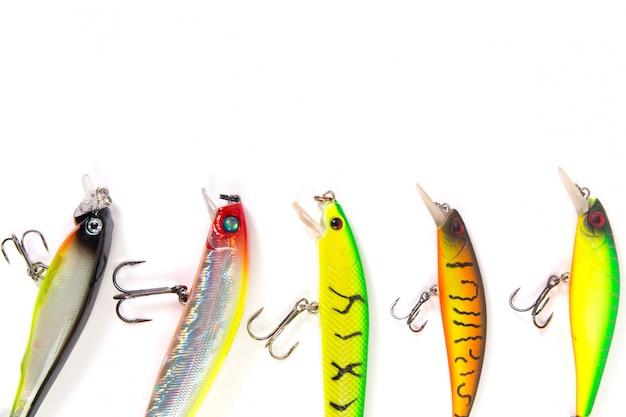 Vissen lokken wobbler collectie