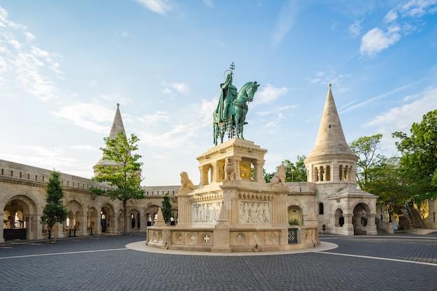 Vissersbastion in de stad van boedapest, hongarije