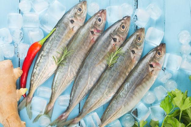 Vissmakreel, œraw makreel met en kruiden