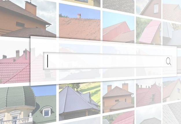 Visualisatie van de zoekbalk