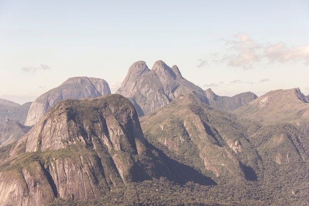 Visuele pootvrouwen boezembaan in teresópolis