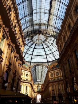 Vittorio emanuele gallery in milaan