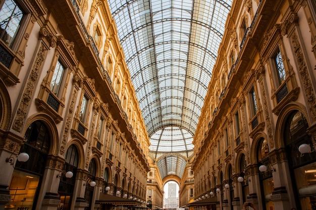 Vittorio emanuele gallery, milaan