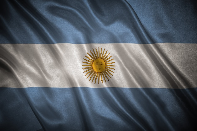 Vlag van argentinië achtergrond