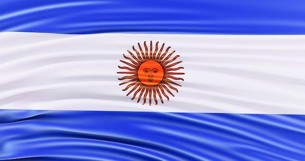 Vlag van argentinië voor memorial day, 4 juli, independence day.