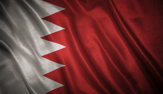 Vlag van bahrein achtergrond