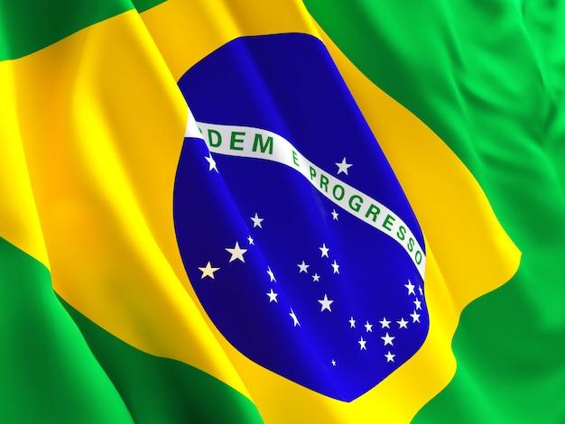 Vlag van brazilië