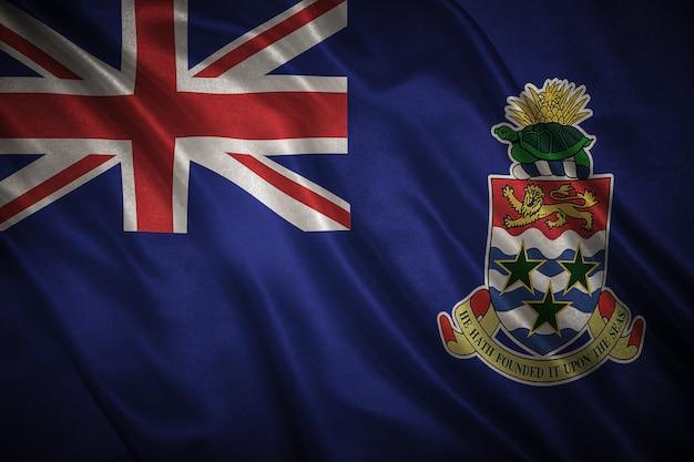 Vlag van caymaneilanden achtergrond