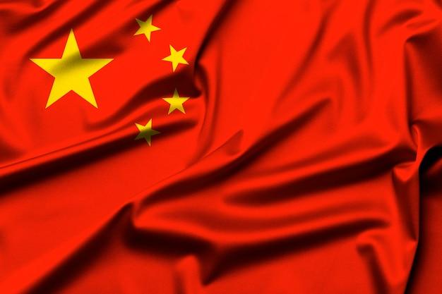 Vlag van china als achtergrond