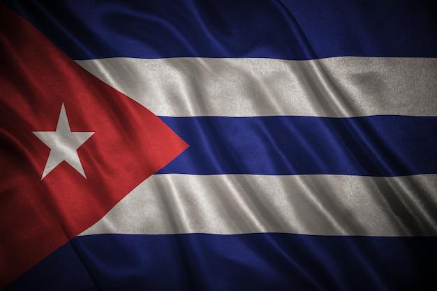 Vlag van cuba-achtergrond