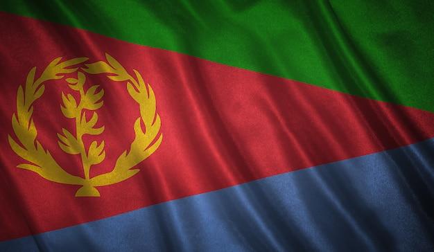 Vlag van de eritrea