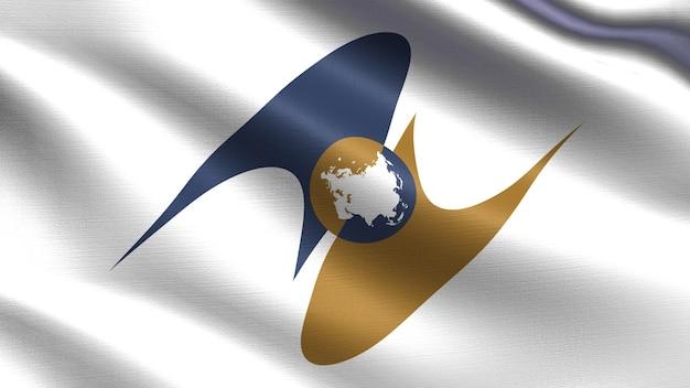 Vlag van de euraziatische economische unie