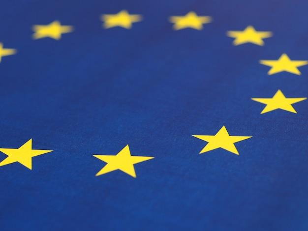 Vlag van de europese unie (eu) oftewel europa