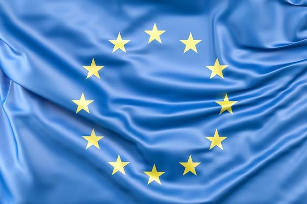 Vlag van de europese unie