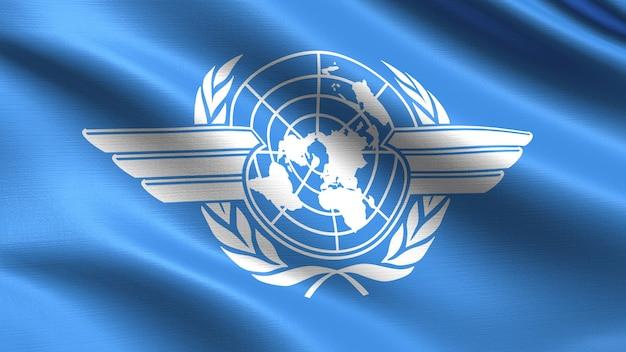 Vlag van de internationale burgerluchtvaartorganisatie