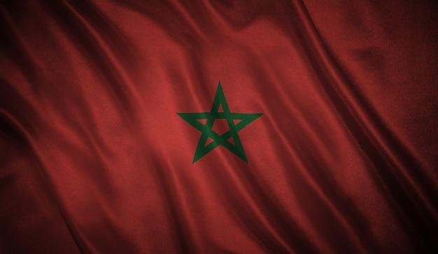 Vlag van de marokko