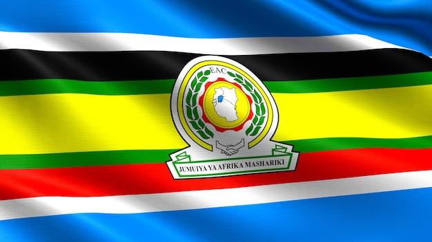 Vlag van de oost-afrikaanse gemeenschap