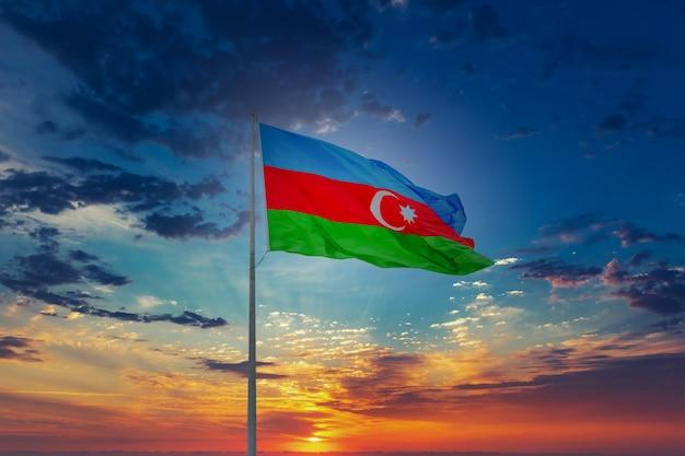 Vlag van de republiek azerbeidzjan