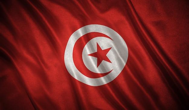 Vlag van de tunesië