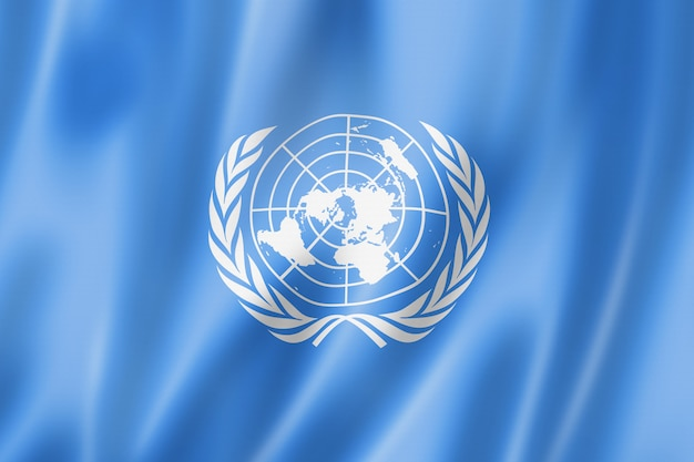 Vlag van de verenigde naties