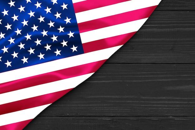 Vlag van de vs kopie ruimte