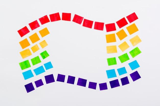 Vlag van de wereld gelukkige trots dag