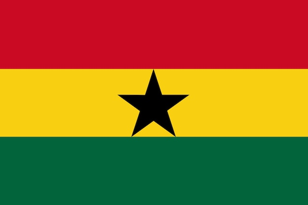 Vlag van ghana