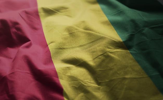Vlag van guinee dichtgetimmerd