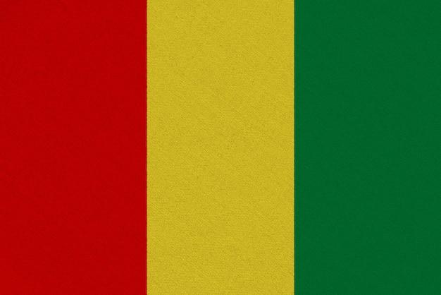 Vlag van guinee-stof