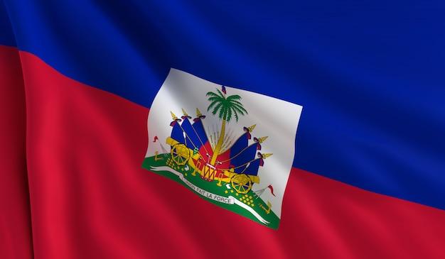 Vlag van haïti