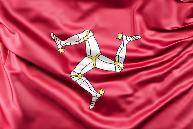 Vlag van het eiland man