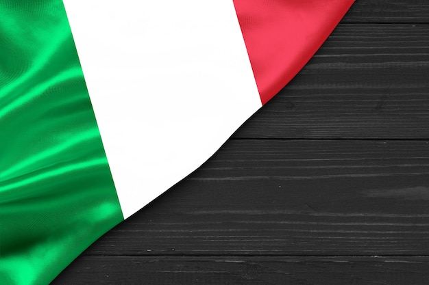 Vlag van italië kopie ruimte