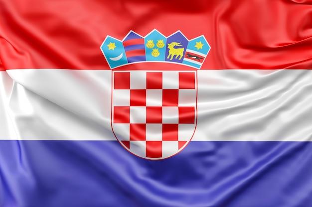 Vlag van kroatië