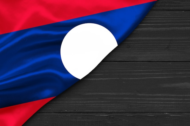 Vlag van laos kopie ruimte