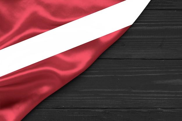 Vlag van letland kopie ruimte