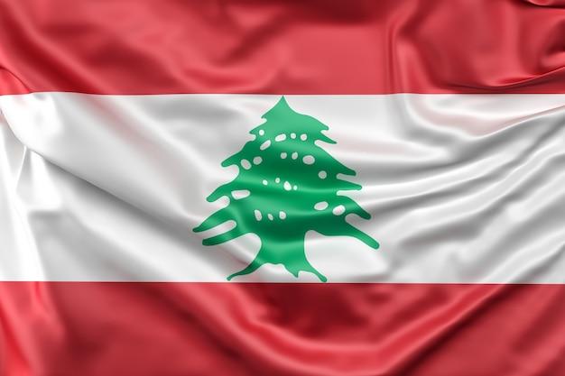Vlag van libanon
