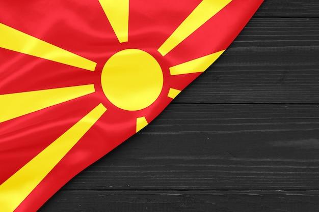 Vlag van macedonië kopie ruimte