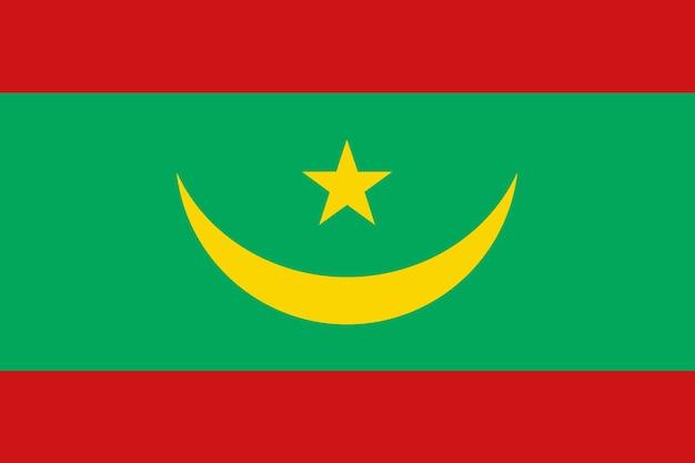 Vlag van mauritanië