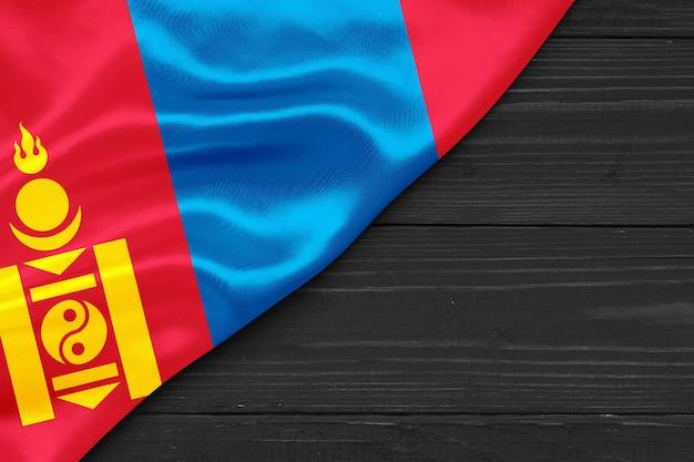 Vlag van mongolië kopie ruimte