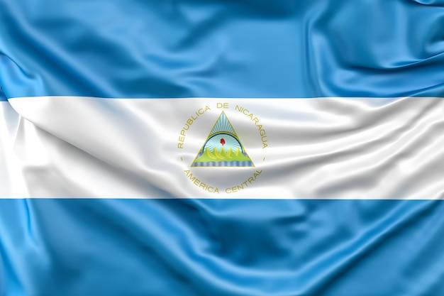 Vlag van nicaragua