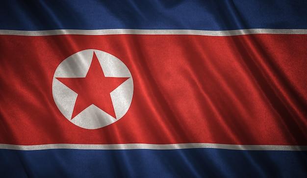 Vlag van noord-korea