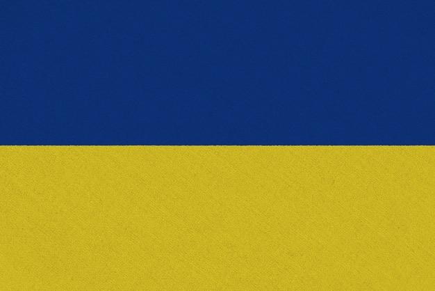 Vlag van oekraïne stof