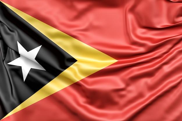 Vlag van oost-timor