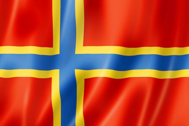 Vlag van orkney county, verenigd koninkrijk