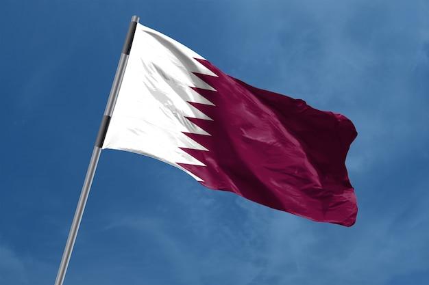 Vlag van qatar